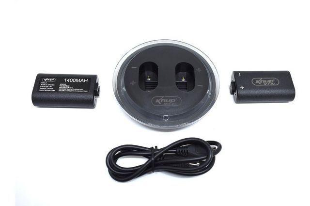 Dock carregador para bateria de controle xbox one knup