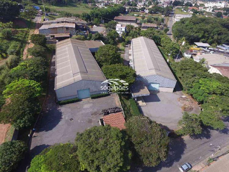 Galpão, distrito industrial, 2 vagas