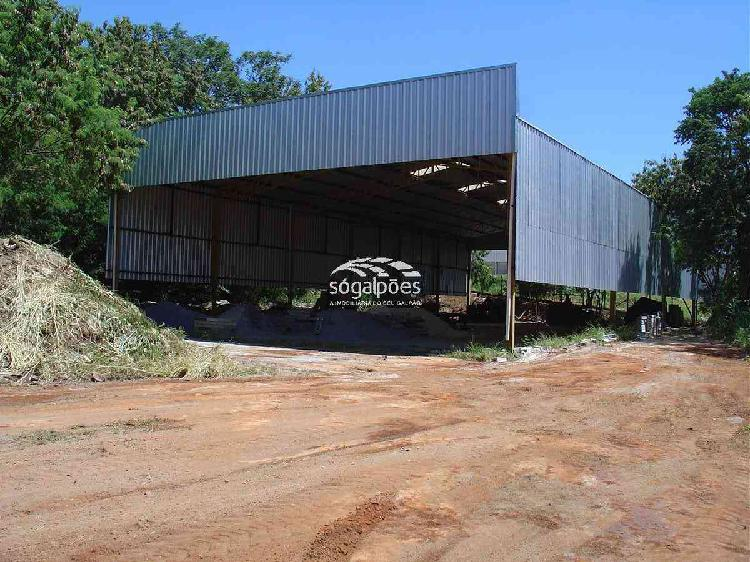 Galpão, distrito industrial