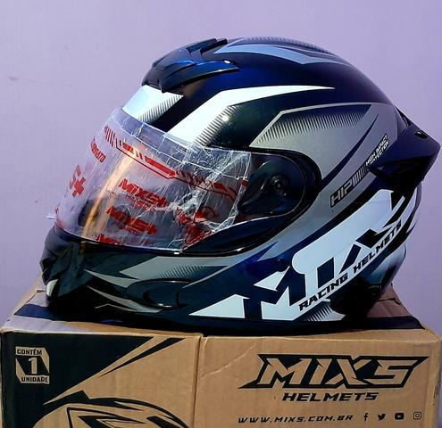 Hobbies capacete moto mixs storm conforto e segurança