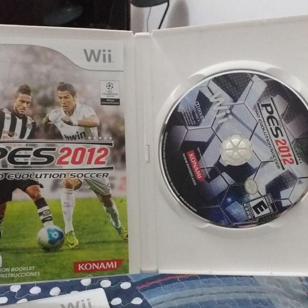 Jogo original nintendo wii pes2012 pro evolution soccer