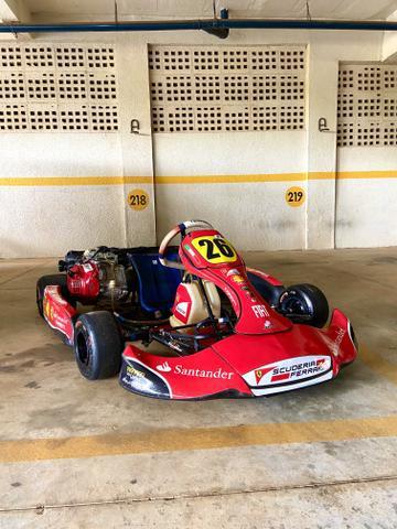 Kart f4 techspeed 2016 profissional com acessórios