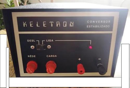 Keletron conversor estabilizado rádio amador / vhf / px