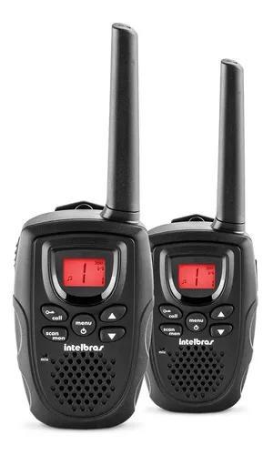 Kit rádio comunicador usb walk talk intelbras twin rc 5002