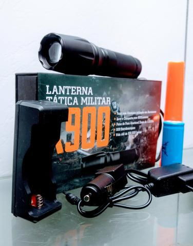 Lanterna tática x900 kit completo