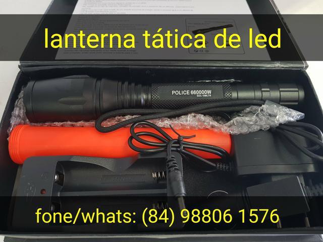 Lanterna tática de led profissional