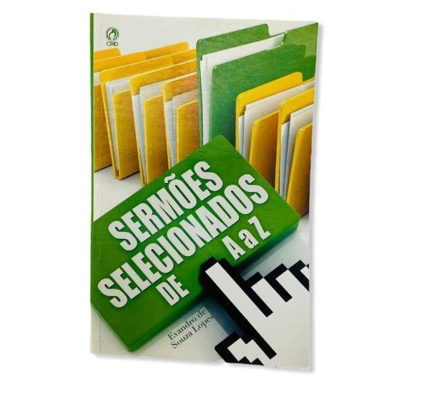 Livro sermões selecionados de a a z - evandro de souza