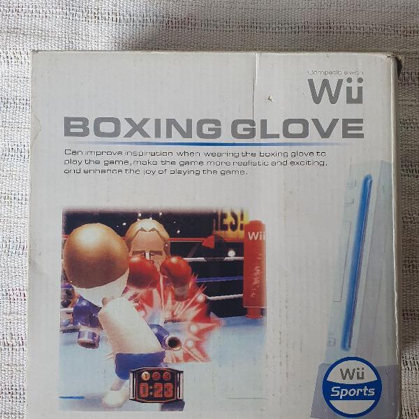 Luva de Boxe Wii