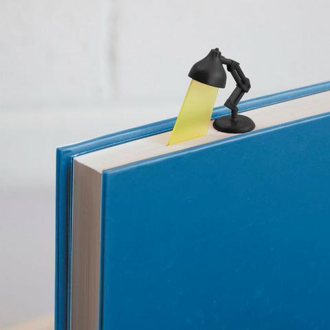 Marcador de página luminária, almofada, caneca, capachos