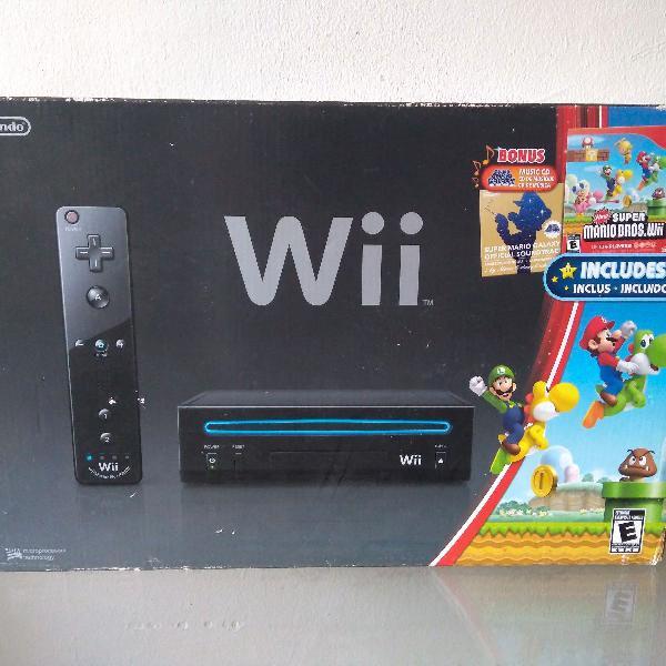 Nintendo wii completo (único dono, nf e caixa)