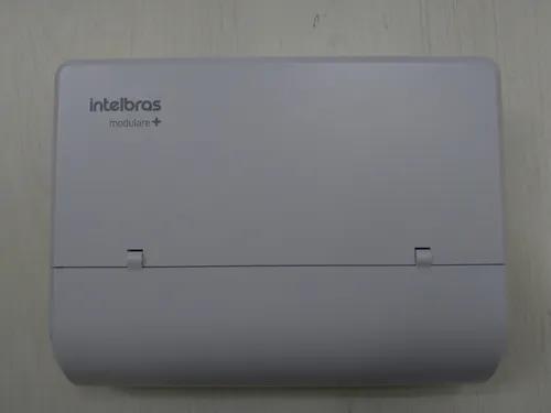 Pabx intelbras modulare mais, 4 linhas 12 ramais + ti-830