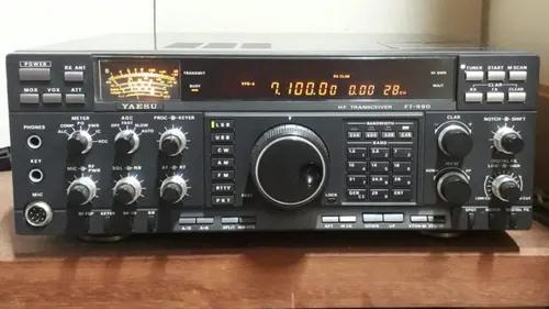 Radio amador yaesu ft990 hf (s