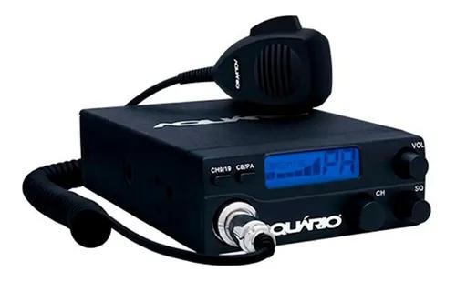 Radio px amador aquario 40 canais - homologado anatel - rp40