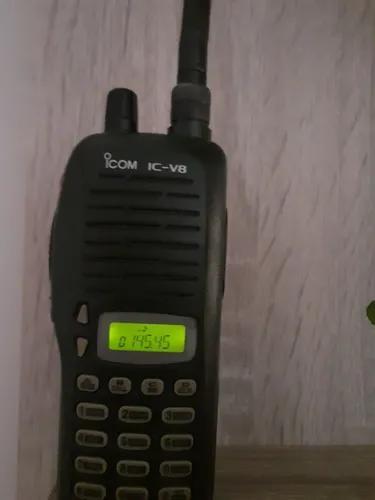 Rádio amador vhf icom ic v 8 não e px hf uhf