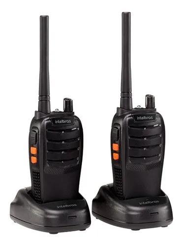 Rádio comunicador intelbras rc 3002 longo alcance (par) nfe