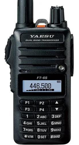 Rádio ht yaesu ft-65r vhf/uhf dual band pronta entrega