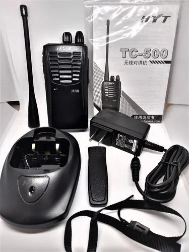 Rádio hytera ht hyt tc 500 novo - uhf