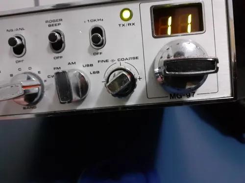 Rádio px megastar mg 97. não e rádio amador vhf uhf hf
