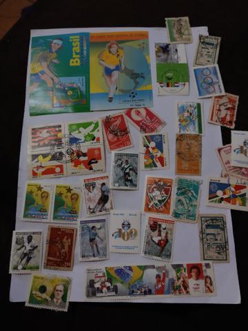 Selos antigos e alguns mas atuais