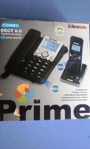 Telefone ibratele prime combo + 1 ramal (leia o anúncio)