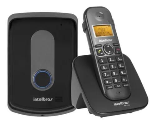 Telefone intelbras s/ fio tis 5010 c/ramal externo interfone