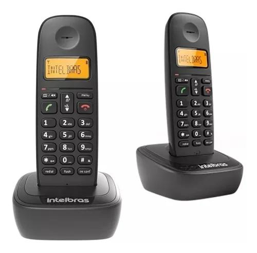 Telefone s/ fio intelbras ts2510 dect6.0 + 1 ramal s