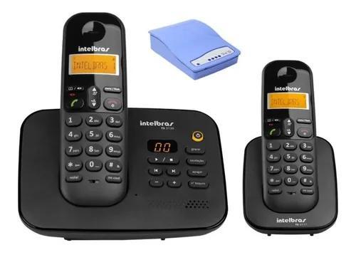 Telefone secretaria eletronica bina entrada chip 3g e ramal