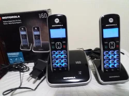 Telefone s/fio motorola auri 3500, viva voz bina s