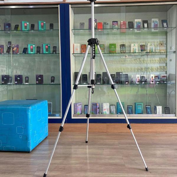 Tripé camera digital profissional 1.60metros c/ nível