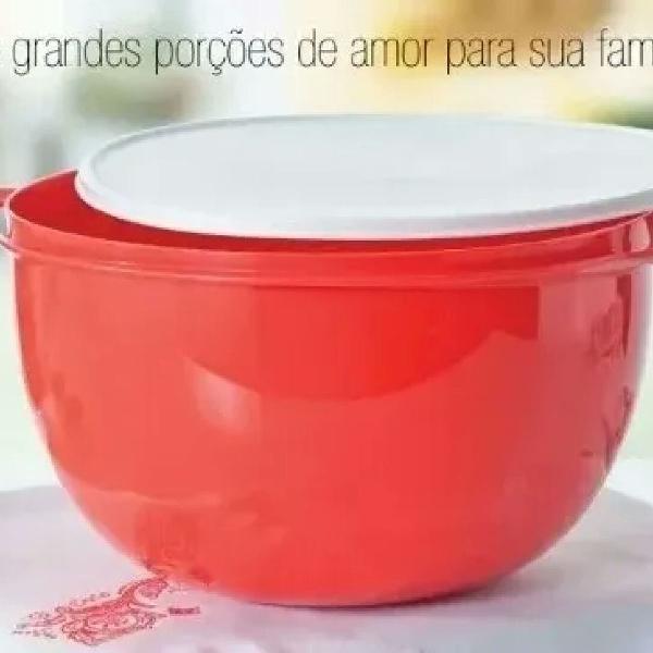 Tupperware jumbo criativa 14 litros vermelha