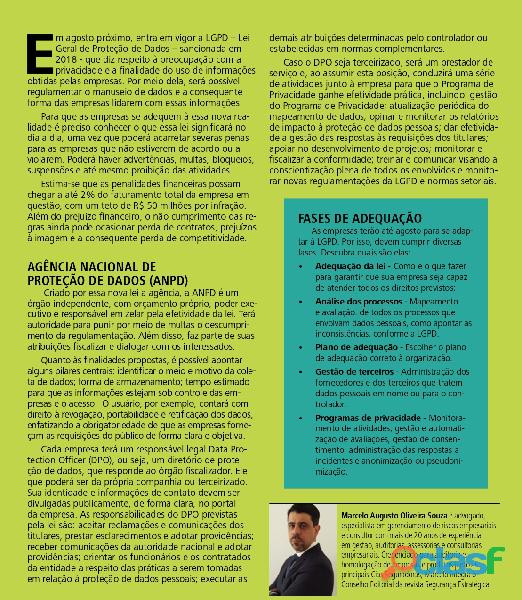ADEQUAÇÃO DA LGPD   LEI GERAL DE PROTEÇÃO DE DADOS 1