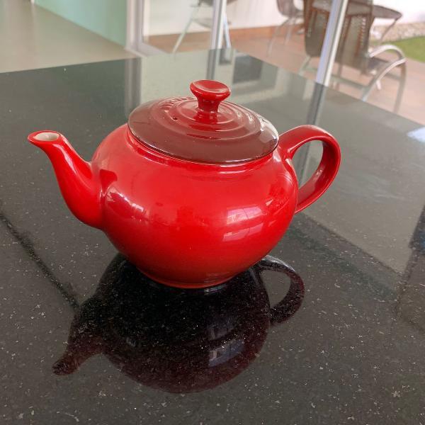 Bule para chá com infusor le creuset