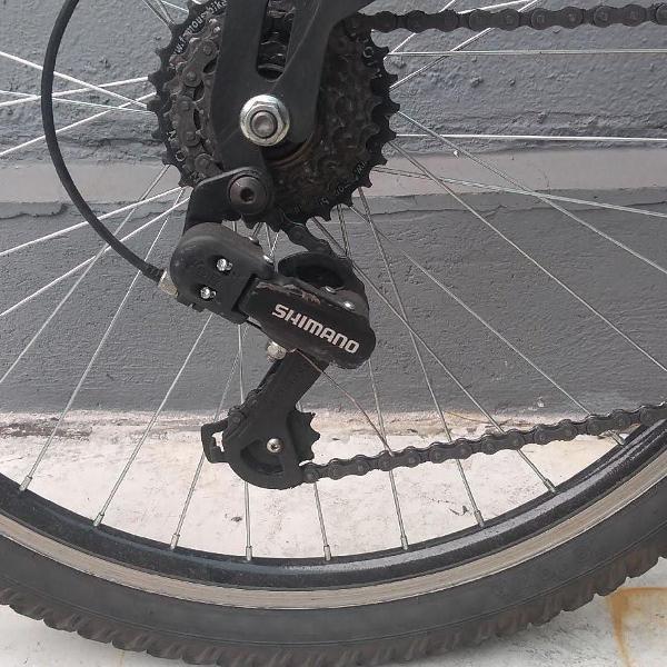 Caloi · t-type · mountain bike · 21 marchas · suspensão