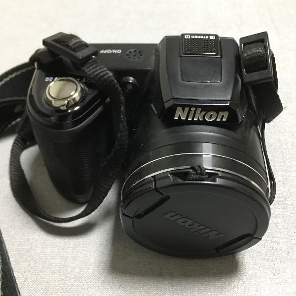 Câmera digital nikon coolpix l110 semi profissional