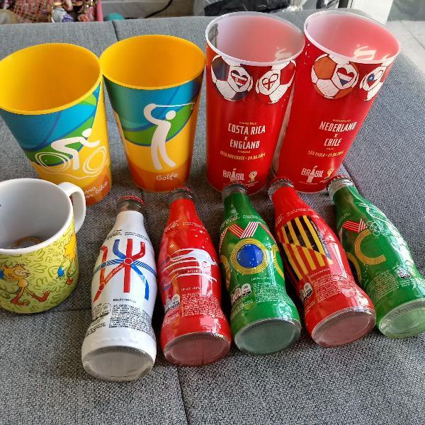 Copa 2014 e olimpíadas rio 2016 - souvernirs, copo, caneca,