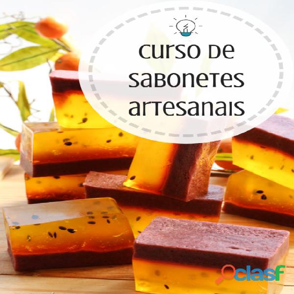 Curso Sabonetes Artesanais