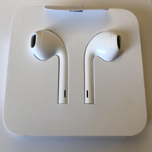 Fone de ouvido earpods com conector lightning