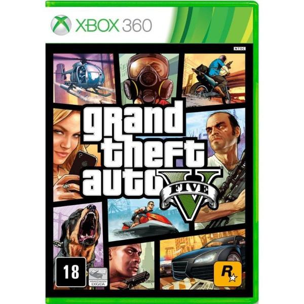 Game grand theft auto v - xbox 360
