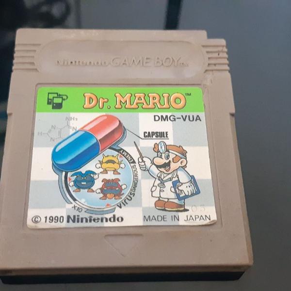 Jogo dr mario gameboy | game boy