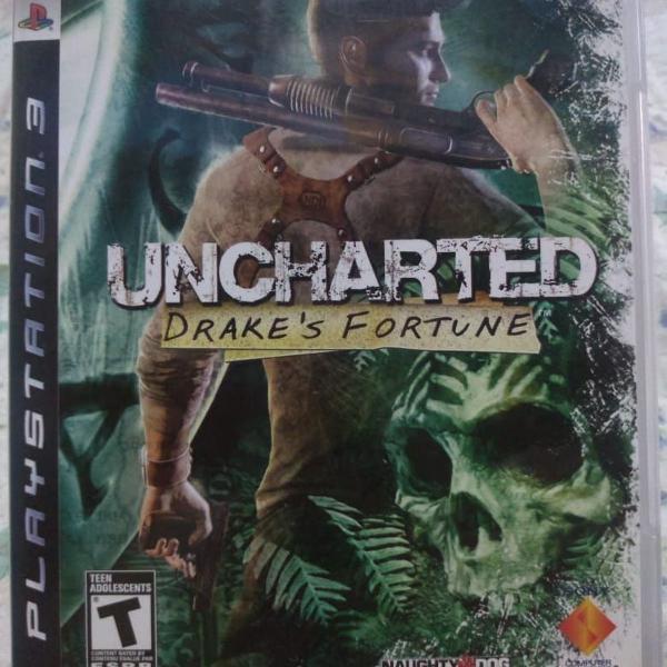 Jogo para ps3 - uncharted 1