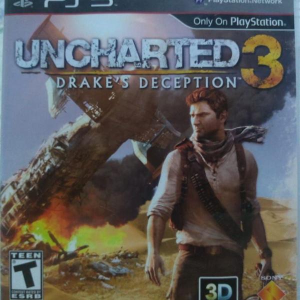 Jogo para ps3 - uncharted 3