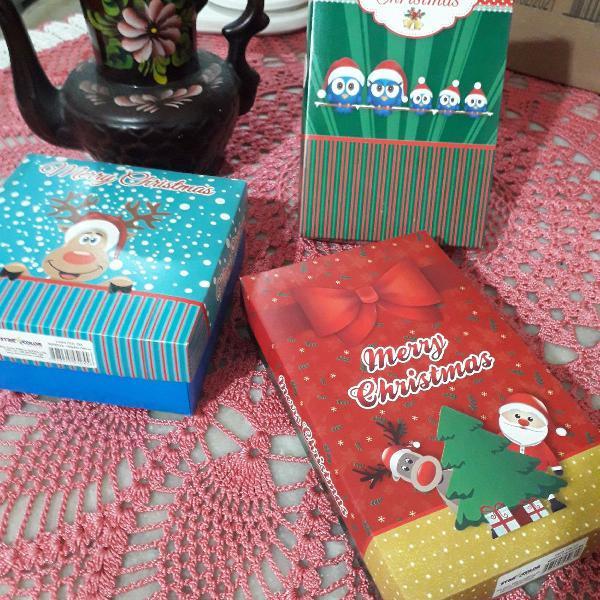 Kit caixas para presente