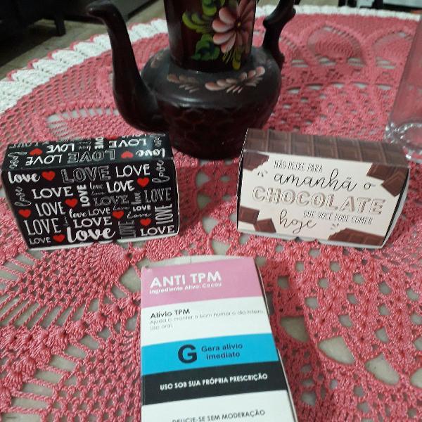 Kit caixas para presentes e gostosuras