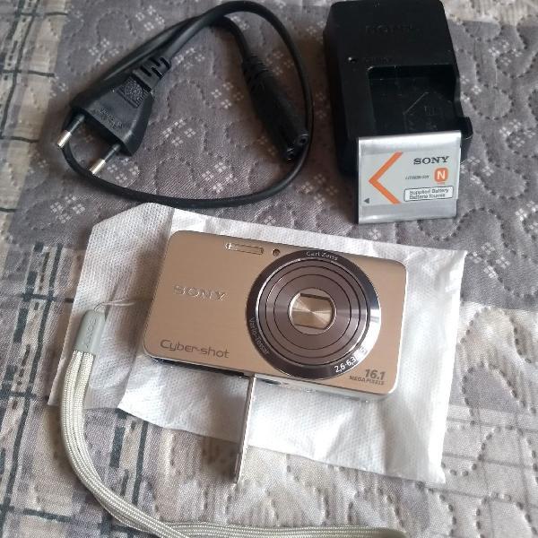 Máquina de fotografia sony - cybershot 16.1 megapixels