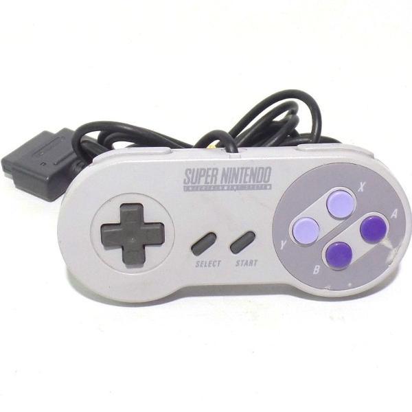 Nintendo - controle original para super nintendo