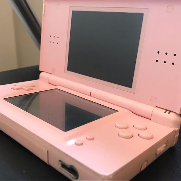 Nintendo ds lite + capa protetora + fitinha