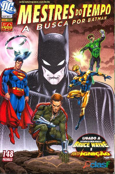 Quadrinhos mestres do tempo: a busca por batman nº 1