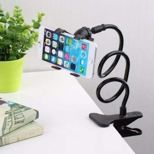 Suporte celular garra mesa universal para vários aparelhos