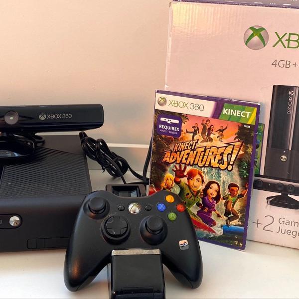 Xbox360 completo com + 13 jogos