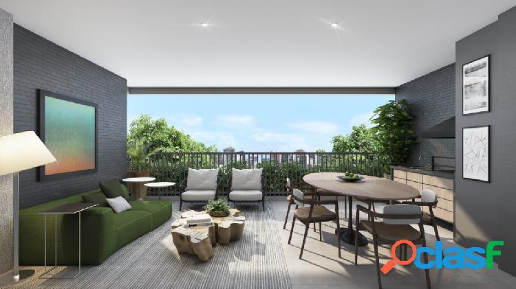 Apartamento campo belo 3 suítes 2 vagas 122 m²